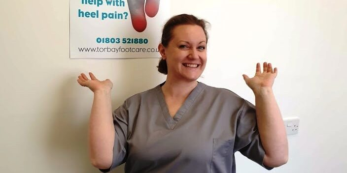 Erica at Torbay Footcare